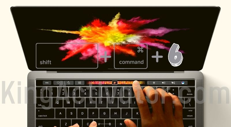 Take an Image of the Touch Bar