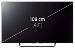 measure TV screen size