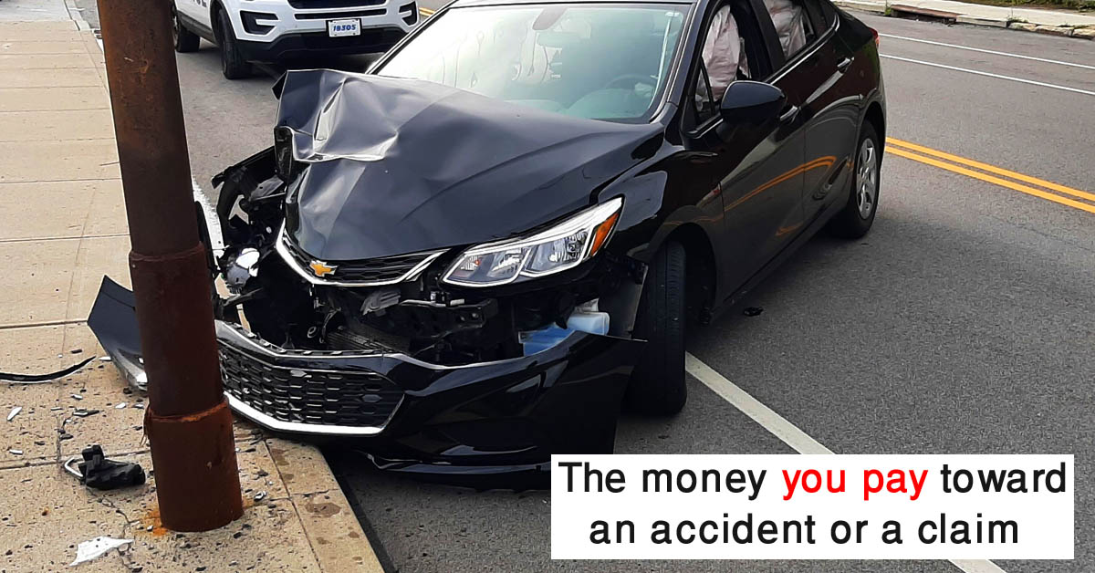 what does deductible mean in car insurance
