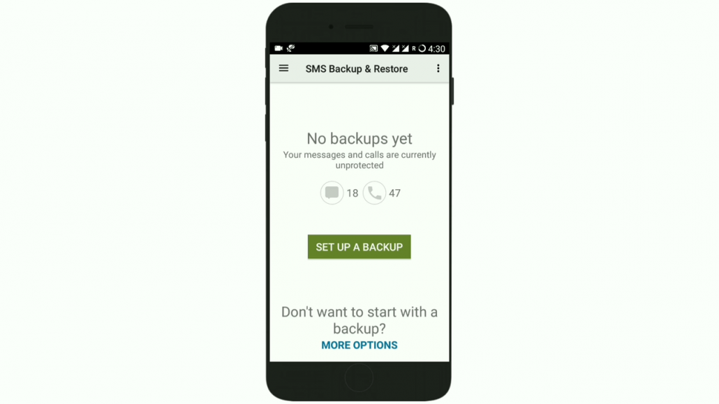 google sms backup and restore